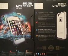 100% Authentic LifeProof case for Apple iPhone 6 Fre Genuine Waterproof White
