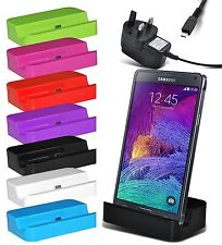 Micro USB Charging Dock Station & Mains Charger for Latest Samsung Galaxy Models