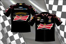 Kevin Harvick Bud Budweiser Embroidered Pit Crew Shirt Black JH Design New