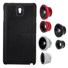 3-in-1 Fisheye+ Wide Angle + Macro Camera Lens with Case fr Samsung Galaxy Note3