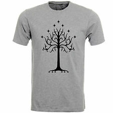 The White Tree Of Gonder Lord of the Rings Hobbit Tolkiens Logo Tshirt Tee Top