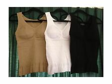NEW Cami Shaper by Genie Bra Instant Slimming up to 2 sizes seen on TV *no flaws