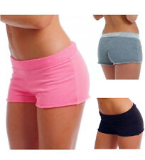 Sexy Terry Cloth Booty Hot Shorts Pink 2 Tone Gray or Charcoal Cotton Blend THS