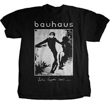 AUTHENTIC BAUHAUS BELA LUGOSI'S DEAD GOTHIC ROCK MUSIC BAND T TEE SHIRT S M L XL
