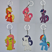 1PC My Little Pony PVC Action Figure Trendy Cute Doll Soft Toy Backpack Keyring