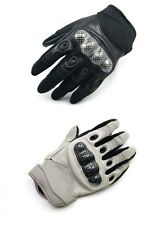 Carbon Fiber Hard Knuckle TACTICAL Full Finger Gloves Military Motorcycle