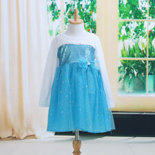 Chic Baby Kids Girl Princess Party Wedding Sequin Tulle Full Fancy Dress Costume