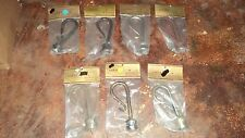 """1 Pair Staff Wrought Iron Finials Curtain Finials for 1-1/8"""" Poles Swag Holders"""