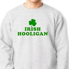 IRISH HOOLIGAN T-shirt Ireland Beer Heritage Humor St Paddys Crew Sweatshirt