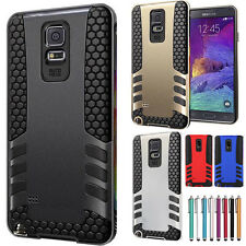 Heavy Duty Hybrid Rugged Rubber Hard Case Cover For Samsung Galaxy S5 Note 3 4