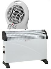 2000W PORTABLE CONVECTOR THERMOSTAT SILENT ELECTRIC FAN HEATER HOT COOL AIR NEW