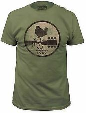 WOODSTOCK 1969 MUSIC ART FESTIVAL GUITAR CONCERT BAND ROCK TEE T SHIRT S-2XL