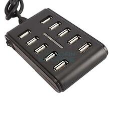 10 Port High Speed Extension Cable USB 2.0 Hub Adapter For Laptop PC
