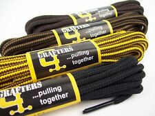 STRONG BOOT LACES 140 cm GRAFTERS LACES FOR SAFETY BOOTS, WORK BOOTS, STEELS