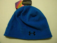 Under Armour Cold Gear Storm Infrared boys blue beanie  Brand New $30