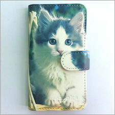 Brand new Cute cat 193 wallet Flip case cover for Samsung/iphone/Nokia/HTC