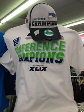 Seattle Seahawks NFC Conference Champions Official Locker Room T-Shirt & Hat