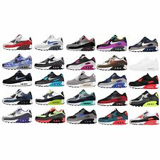 Nike Air Max 90 Essential / LTR Leather NSW Mens Running Shoes Trainers Pick 1
