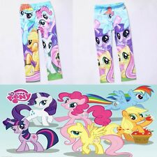 My Little Pony Clothes 5-10Y Baby Kids Girls Leggings Pants Spring Autumn Wear