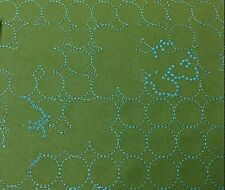 Maharam Layers Vineyard Small Jade/Turquoise Wool Blend Fabric- Hella Jongerius