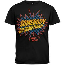Mac Miller - Somebody Do Something Soft Adult Mens T-Shirt