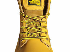 STRONG BOOT LACES 140 cm GRAFTERS LACES FOR SAFETY BOOTS, WORK BOOTS, STEEL TOES