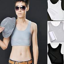 New Hot Breathable Buckle Short Chest Breast Binder Trans Lesbian Tomboy trendy