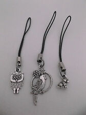 Phone/Bag/DS/Lanyard/Ipod Cord Charm,Gift/Party Filler,Owl/Bird/Parrot/Dog/Puppy