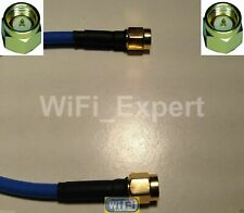 USA-CA RG402 Blue SMA MALE to SMA MALE Coaxial RF Pigtail Cable