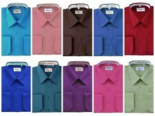 French Convertible Shirts for Men. Dress shirt by Berlioni Italy