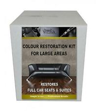 Leather Restoration and Repair Kit Transforms Leather Furniture and Car Seats