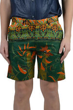 Dent De Man Men's Multi-Color Floral Flat Front Shorts US 30 34