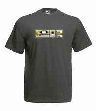RETRO SPACE INVADERS GAME CONTROL PANEL INSPIRED GRAPHIC HIGH QUALITY T SHIRT