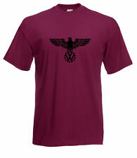 VW VOLKSWAGEN CAMPER EAGLE WINGS GRAPHIC HIGH QUALITY 100% COTTON T SHIRT