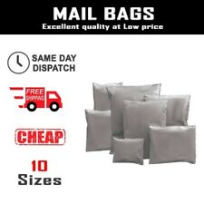 Grey Mailing Parcel Postage Bags Plastic Post Poly Bags Self Seal Mail All Sizes