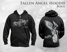 SULLEN FALLEN ANGEL BIG GUS RYAN SMITH INK PUNK GOTH TATTOO ZIP UP HOODIE M-4XL