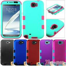 Protective Case Cover For SAMSUNG Galaxy Note 2, TUFF Hybrid Impact Protection