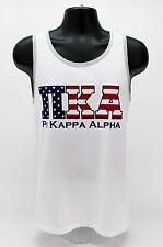 Pi Kappa Alpha ΠΚΑ Tank Top America USA Merica American Flag Fraternity Shirt