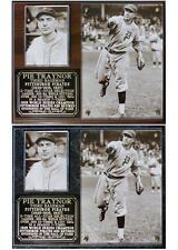 Pie Traynor Baseball Hall of Fame Photo Card Plaque Pittsburgh Pirates
