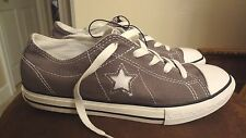 NIB Women's Converse One Star Shoes Sneakers Gray Size 9