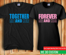Together Forever Couples Matching T-shirts - Price for 2