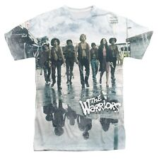The Warriors Movie Strolling Licensed Sublimation Poly Adult Shirt S-3XL