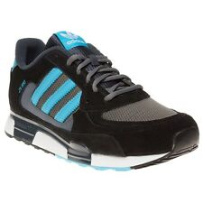New Mens adidas Black Zx 850 Suede Trainers Retro Lace Up