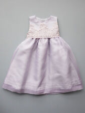 Luli & Me Lilac Organza Special Occasion Party Dress Baby Girl Size 18M NWT $80