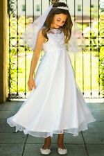 Flower Girl Dress Holy First Communion Church Party Wedding Pageant Dance Prom