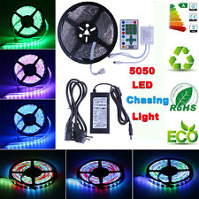 5M Dream Color Horse Race 5050 RGB LED Strip  & IR remote Controller & Adapter