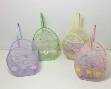 Mini Easter Baskets  with Grass