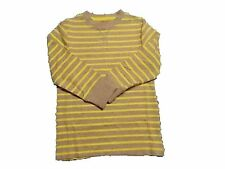 NWT Boy's Gymboree Woodland Party yellow gray striped long sleeve shirt ~ 4 5 10