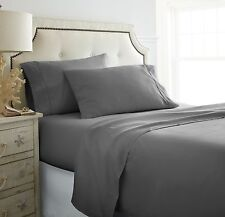 Full Size Bed Sheets - Deep Pocket 4 Piece Set - 12 Colors
