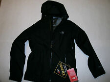 The North Face Impervious Gore Tex woman black shell jacket sz L Brand New $300